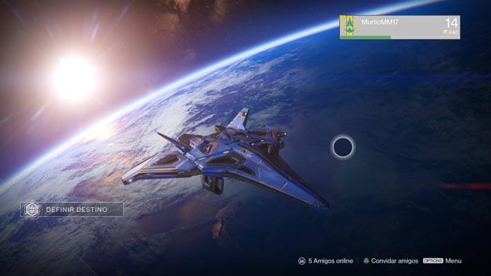 Vá para a órbita e confira a nova nave (Foto: Reprodução/Murilo Molina)