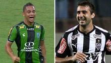 América-MG e Atlético fazem final do Campeonato Mineiro na Inter TV (montagem/GE)