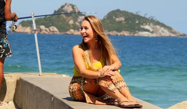 Carla Diaz posa para fotos (Foto: Gabriel Rangel / AgNews)