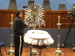 Corpo de Luciano do Valle é velado na Câmara de Campinas (Foto: Murilo Borges / GE)