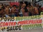 Índios ocupam sede do Ministério da Saúde em Belém
