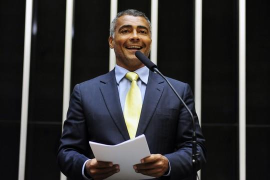 O deputado Romário (sem partido) (Foto: Gustavo Lima/Deputado Federal)