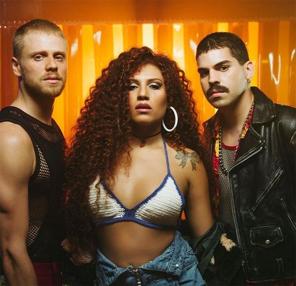 Davi Sabbag, Candy Mel e Mateus Carrilho formam a Banda Uó (Foto: Reprodução / Instagram)