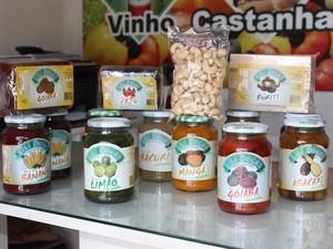 Doces piauienses são feitos a partir das árvores frutíferas (Foto: Gilcilene Araújo/G1)