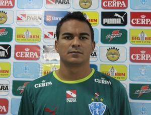 Careca, atacante do Paysandu, ex Cene-MS (Foto: Divulgação/Ascom Paysandu)