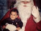 Enzo Celulari posta foto de quando era bebê