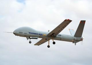 Hermes 900 tem maior autonomia e alcance ilimitado (Foto: FAB/divulgação)