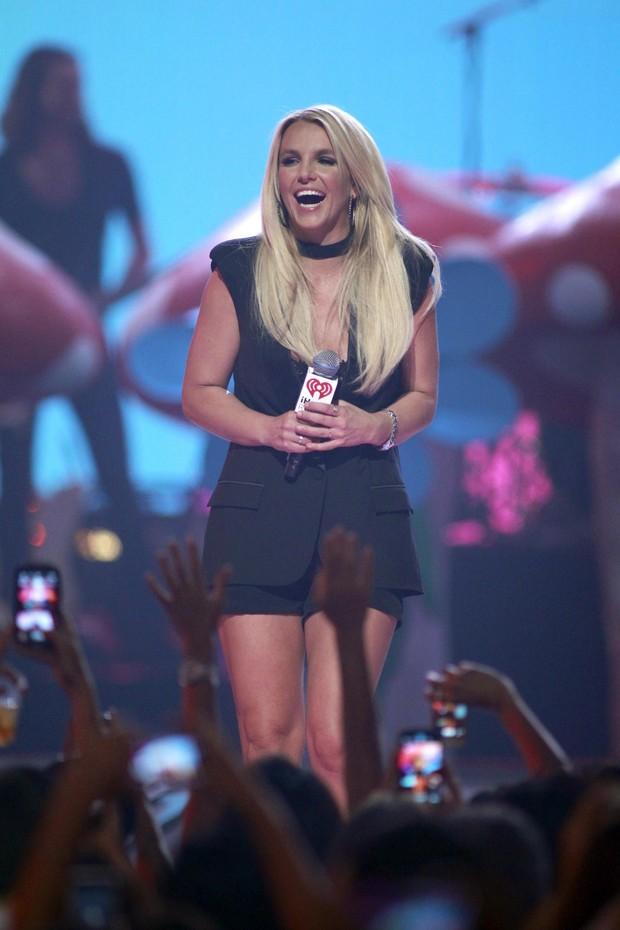 Britney Spears em evento em Las Vegas (Foto: Reuters)