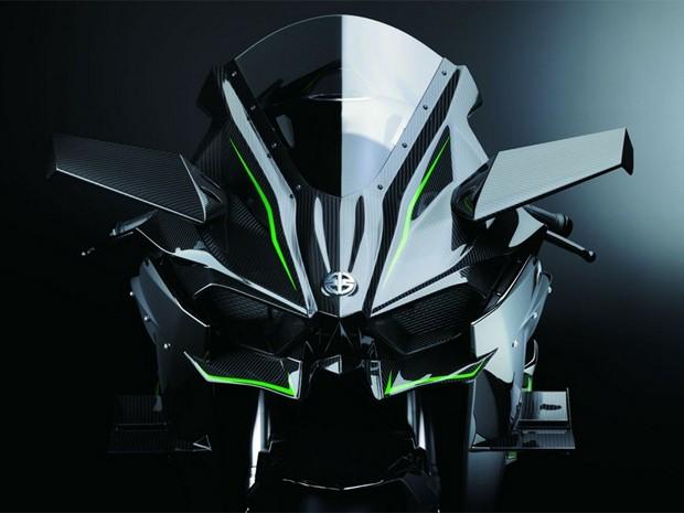 Kawasaki H2R (Foto: Divulgação)
