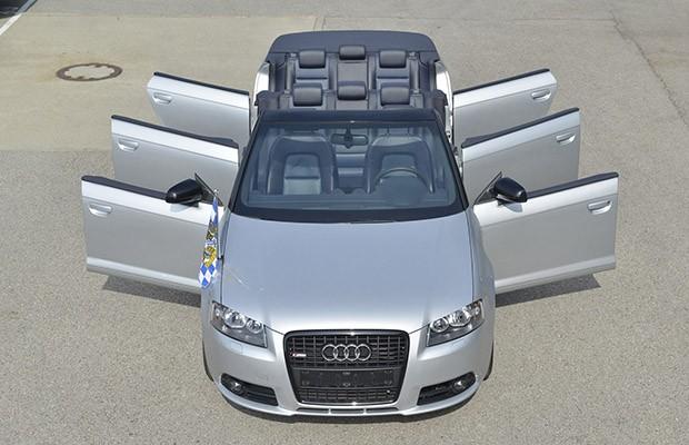 Audi A3 Cabriolet com seis portas é só um exercício de estilo (Foto: Divulgação)