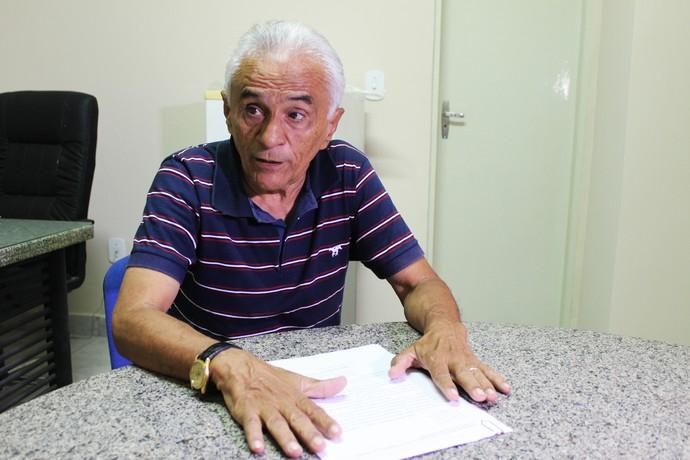 José do Egito, presidente do TJD-PI (Foto: Josiel Martins)