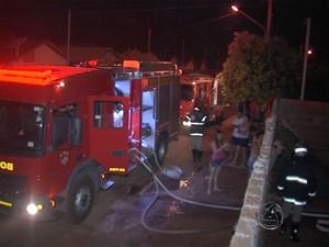 Incêndio Terenos (Foto: Reprodução/ TV Morena)