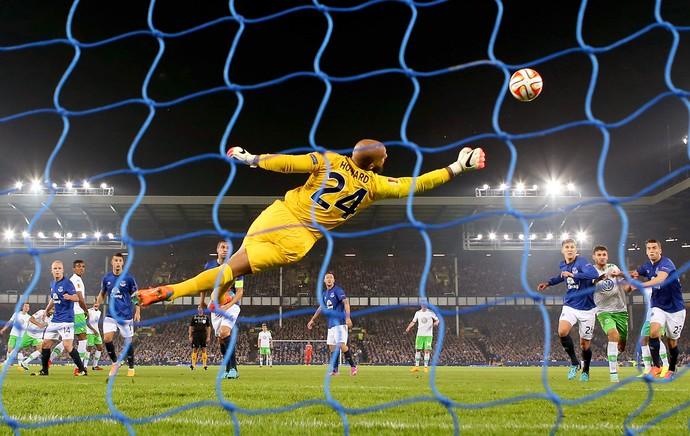 Everton x Wolfsburg - Tim Howard (Foto: Getty Images)