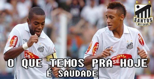 Neymar Robinho Santos zoeira