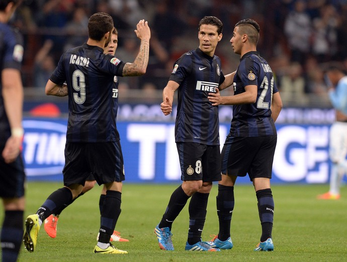 hernanes internazionale x lazio (Foto: Getty Images)
