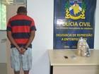 Homem é preso com 3 kg de pasta base de cocaína em Boa Vista