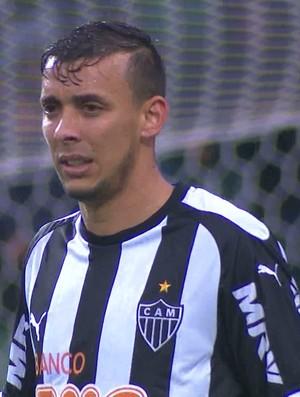 Pedro Botelho, lateral esquerdo do Atlético-MG (Foto: Reprodução/TV Globo Minas)