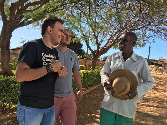 Mário conheceu o Capeta, o 'faz tudo' de Pitangui (Foto: Divulgação)