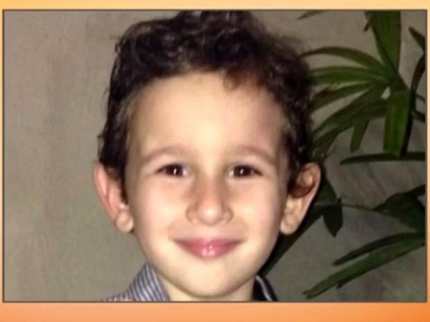 Júlio Pasquali, de 3 anos, foi morto pelo pai, uma das quatro vítimas do crime (Foto: Reprodução/RBS TV)
