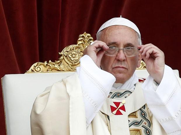 O Papa Francisco condena o uso de qualquer tipo de droga  (Foto: Alessandro Biachi/Reuters)