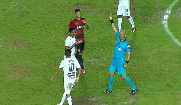 Orejuela Sport x Fluminense (Foto: Reprodução SporTV)