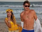 Theo Becker e Raphaela Lamim fazem ensaio pré-casamento