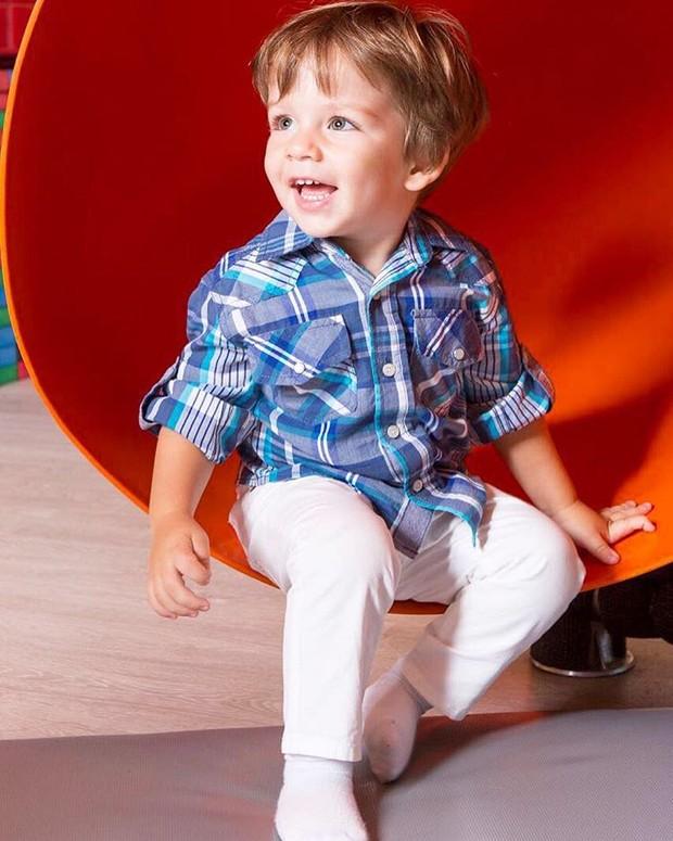 Antônio, filho de Luma Costa (Foto: Instagram / Reprodução)
