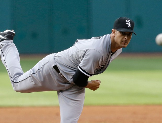 Beisebol Andre Rienzo Chicago White Sox (Foto: AP)