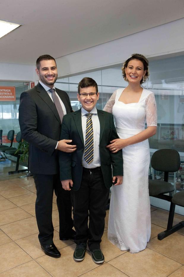 Andressa Urach de casa com Tiago Costa (Foto: Cláudio Cauduro/Divulgação Agência Fio Condutor)
