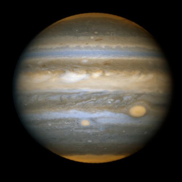 25 anos do Telescópio Espacial Hubble: O planeta Júpiter