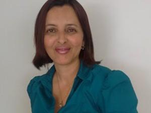 Elisângela Aparecida de Almeida, avaliadora da Olimpíada 2014 (Foto: Arquivo Pessoal)