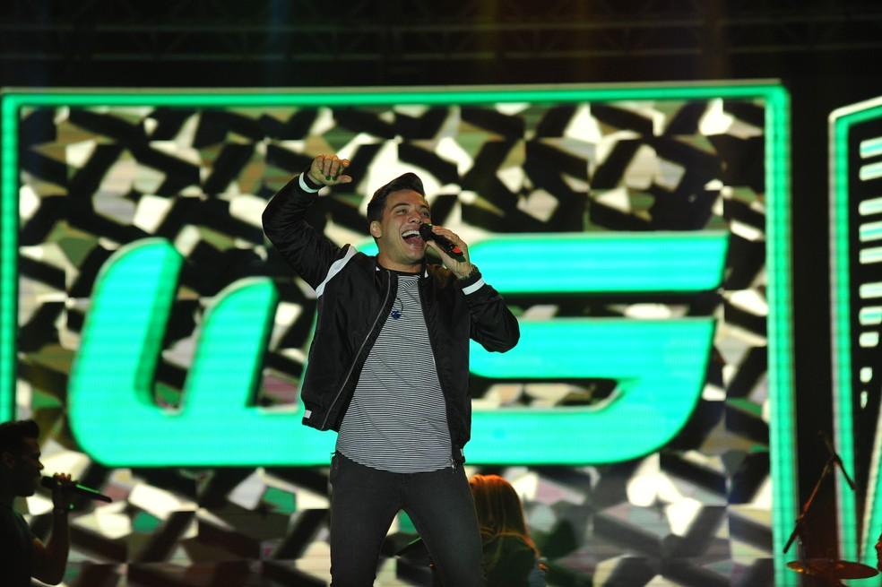 Wesley Safadão em show na Festa do Peão de Americana (Foto: Júlio César Costa)