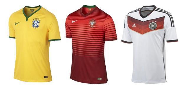 EGO - Internautas elegem as 10 camisas mais estilosas da Copa do ... 3ea9a8eb72873