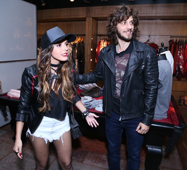 Giovanna Lancellotti e Chay Suede (Foto: Anderson Borde / AgNews)