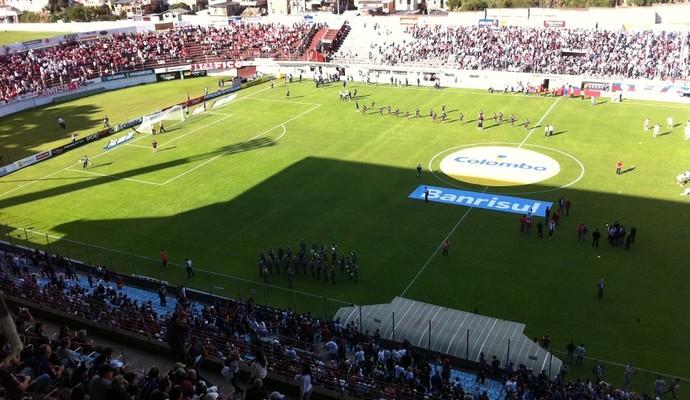 Estádio Centenário final Gauchão Caxias x Inter (Foto: Diego Guichard / GLOBOESPORTE.COM)