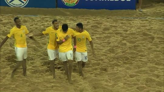 Brasil freia nova geração do Paraguai  e conquista o hepta nas eliminatórias