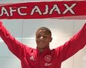 """David Neres chega ao Ajax e mostra empolgação em inglês: """"Let's go!"""""""