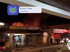 Incêndio destrói loja em Ubatuba, SP