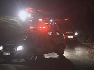 Polícia Militar foi acionada para atender a ocorrência (Foto: Reprodução/TV TEM)