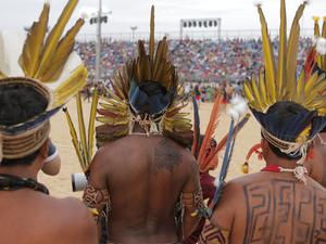 Jogos Mundiais dos Povos Indigenas (Foto: Divulgao)