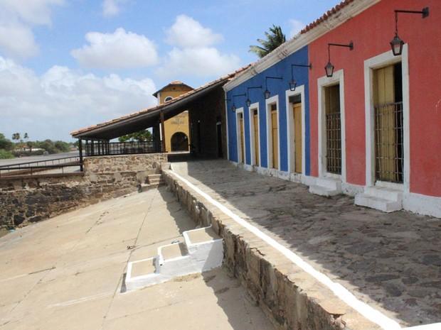 Complexo Turístico Porto das Barcas abriga ainda restaurantes, lojas de artesanatos e pousadas. (Foto: Patrícia Andrade/G1)