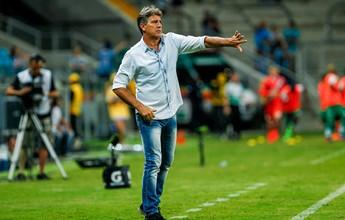 """Renato elogia entrega e vê Grêmio com """"mais atitude"""" em goleada"""