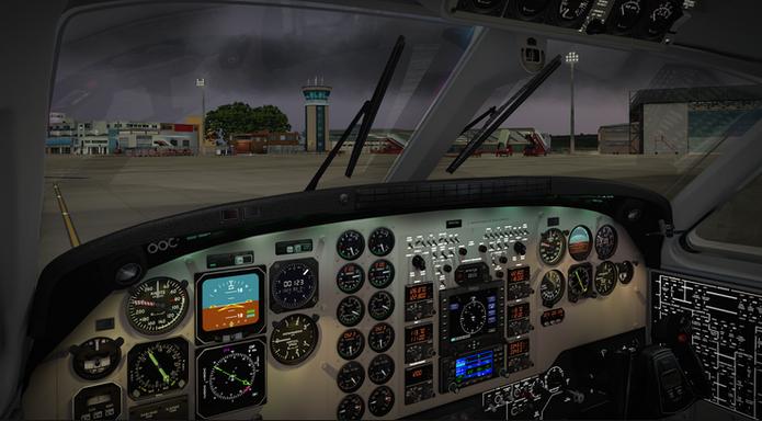 Airplane Flight Simulator 2017 (Foto: Divulgação)