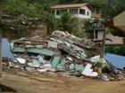 Deslizamento de pedras deixa 30 famílias fora de casa no Sul do ES
