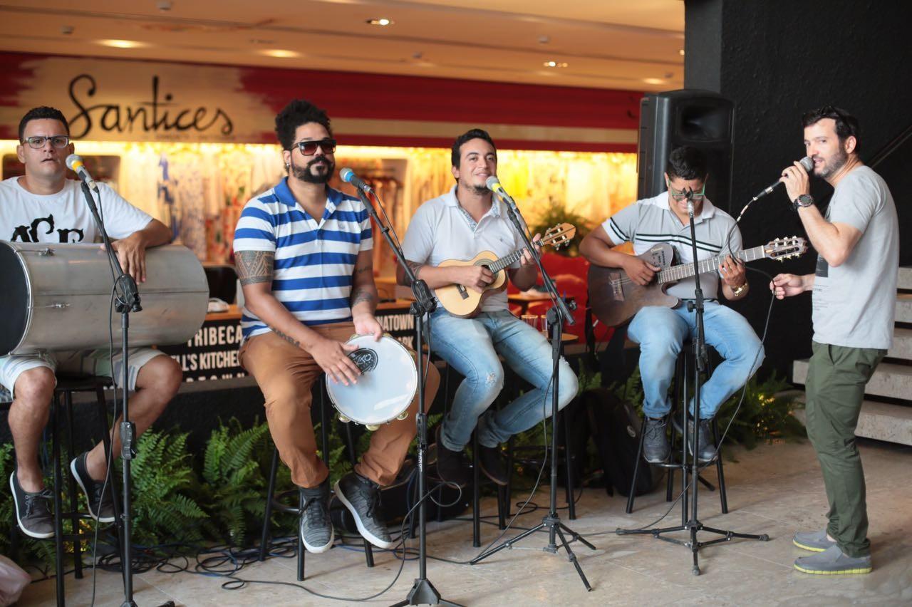 Banda Samba do Bom  (Foto: Divulgação)