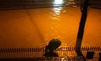 Internautas retratam chuva na Região Serrana (Amando dos Santos/VC no G1)