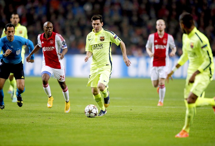 Ajax x Barcelona - Messi (Foto: AP)