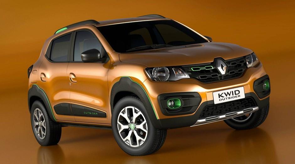 Renault Kwid, novo modelo da montadora francesa (Foto: Divulgação)