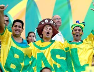 torcida Brasil jogo Itália Salvador (Foto: Getty Images)