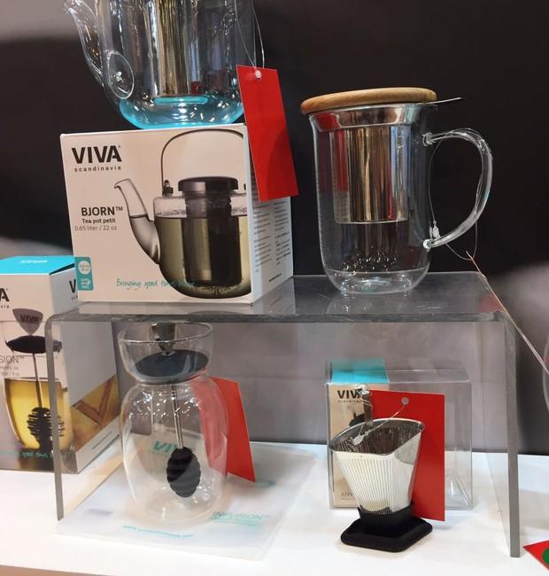 Outro lançamento da MCassab é a linha de chá da Viva Scandinavia com mais de 10 peças. (Foto: Casa e Jardim)